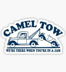 Funny Shirt - Camel Tow Sticker