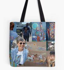 Wearable Art Tote Bag