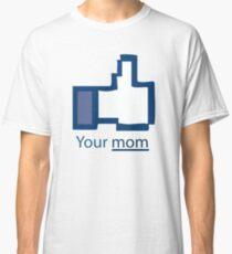 Funny Shirt - Facebook Classic T-Shirt