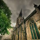 Parish Church of St Mary and All Saints II by John Hare