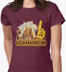 Funny Shirt - Go Washington Womens Fitted T-Shirt