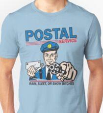 Funny Shirt - Postal Unisex T-Shirt