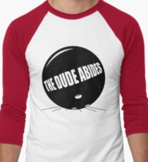Funny Shirt - The Dude Abides Men's Baseball ¾ T-Shirt