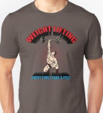 Funny Shirt - Weight Lifting Unisex T-Shirt
