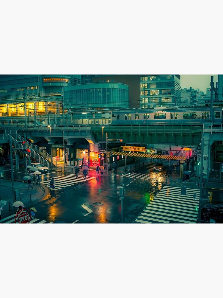 Rainy night in Neo Tokyo by TokyoLuv
