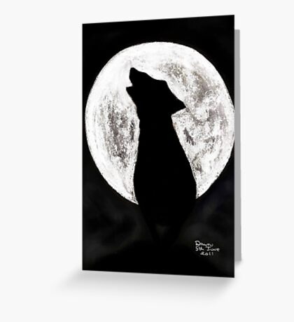 FULLMOON Greeting Card