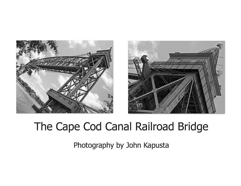 Cape Cod Canal RailRoad Bridge  by John  Kapusta