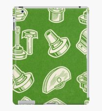 GREEN PATTERN OBJECTS iPad Case/Skin