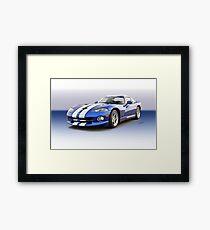 1995 Dodge Viper GTS VS6 Framed Print