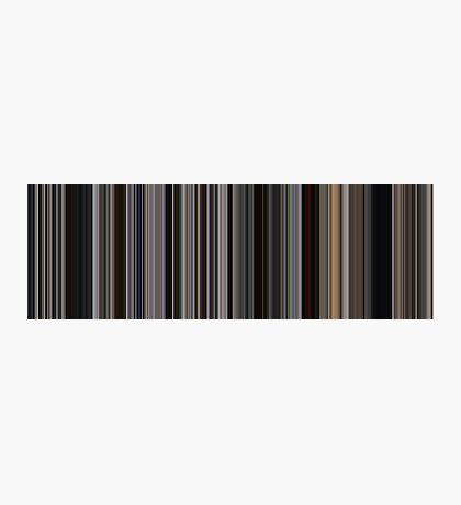 Moviebarcode: There Will Be Blood (2007) [Simplified Colors] Photographic Print
