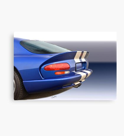 1995 Dodge Viper GTS VS5 Canvas Print