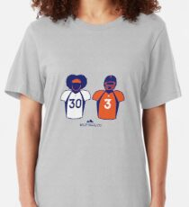 303 (Orange Jersey) Slim Fit T-Shirt