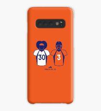 303 (Orange Jersey) Case/Skin for Samsung Galaxy