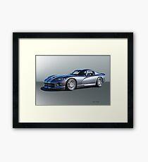 2000 Dodge Viper GTS VS2 Framed Print