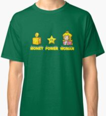 Money Power WOMAN!!!! Classic T-Shirt