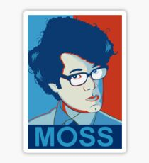 Moss- Nerd Legend Sticker
