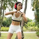 Artist Outdoor Fitness Workout Photo by Vicki Lau