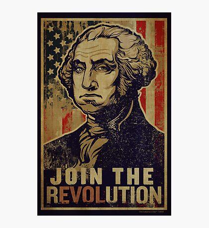 Washington Revolution Propaganda Photographic Print