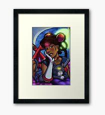 African American Sailor Moon Framed Print
