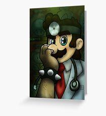 Dr. Dexter Mario Greeting Card