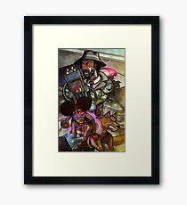 African American Inspector Gadget Framed Print