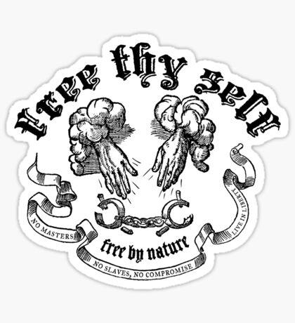 Free Thy Self Sticker