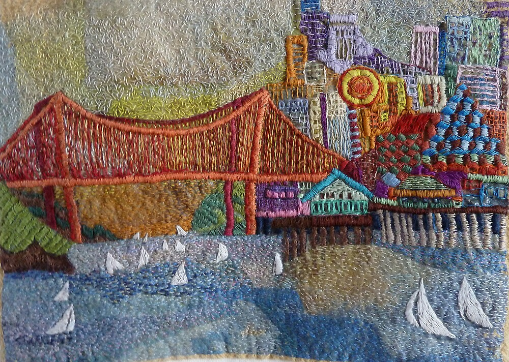 Wearable San Francisco by Sally Sargent