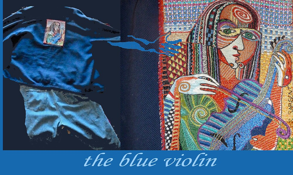 The Blue Violin by Sally Sargent