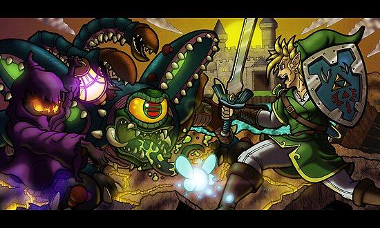 Legend of Zelda by illumistrations