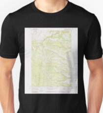 USGS Topo Map Oregon Sugarbowl Creek 281672 1969 24000 Unisex T-Shirt