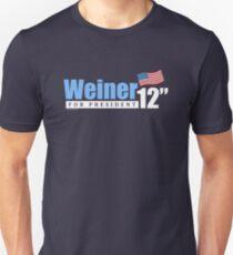 Weiner 2012 Inches - Dark Unisex T-Shirt