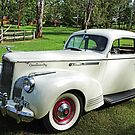 1941 Packard One Twenty Club Sedan by Marilyn Harris