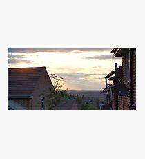 Suburb skyline Photographic Print