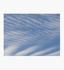 mackerel sky Photographic Print
