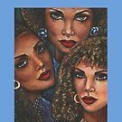 Three Women by Alga Washington