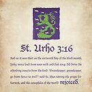 St. Urho 3:13 - Square by LTDesignStudio