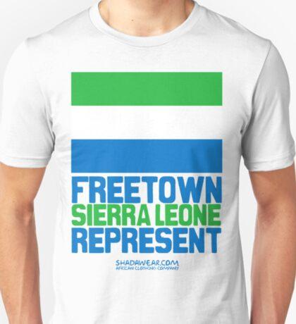 Sierra Leone, represent T-Shirt