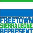 Sierra Leone, represent by kaysha