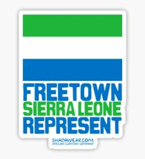 Sierra Leone, represent Sticker