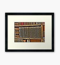 Legal Reading  Framed Print