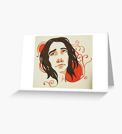 chawlky nouveau Greeting Card