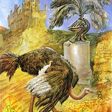 Ostrich by bermanatalie