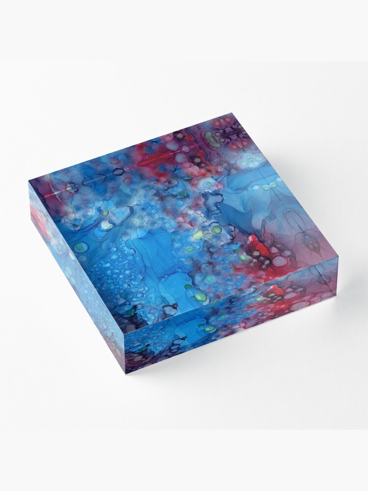 Alternate view of Primordial Soup Acrylic Block