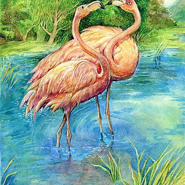 Flamingo by bermanatalie
