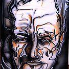 Portrait of Ron Peno by Andrew Hennig