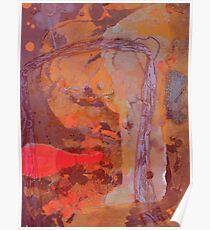 Abstract Outback Poster