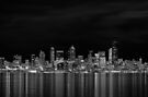 The City At Night. by Todd Rollins