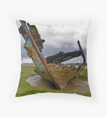 Left to Rot - Fleetwood Wrecks Throw Pillow