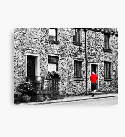 Il postino: the postman Canvas Print