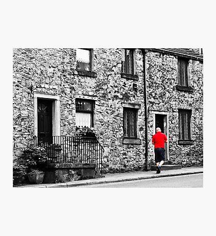 Il postino: the postman Photographic Print